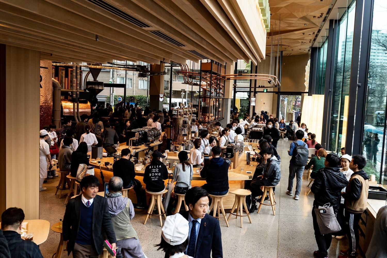 Starbucks reserve roastery tokyo2 66