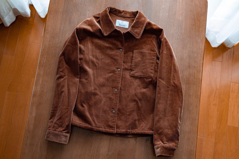 My corduloy jacket3